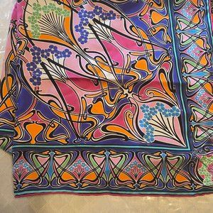 NWT Liberty of London Square Silk Scarf